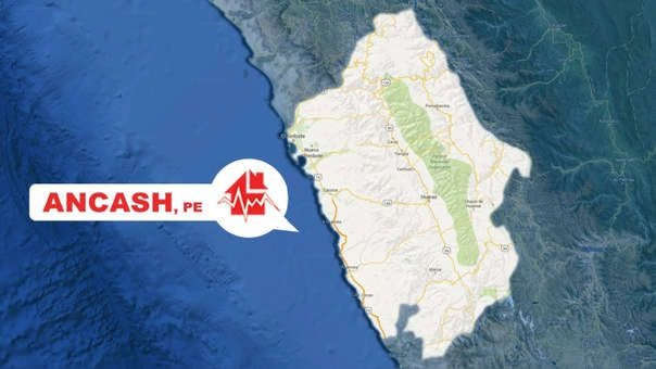 El sismo tuvo su epicentro cerca de Huarmey, en la región de Áncash.