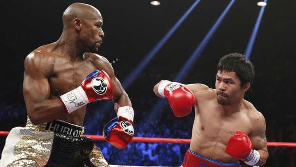 Floyd Mayweather ganó por puntos la denominada 'pelea del siglo' ante Manny Paquiao en el 2015.