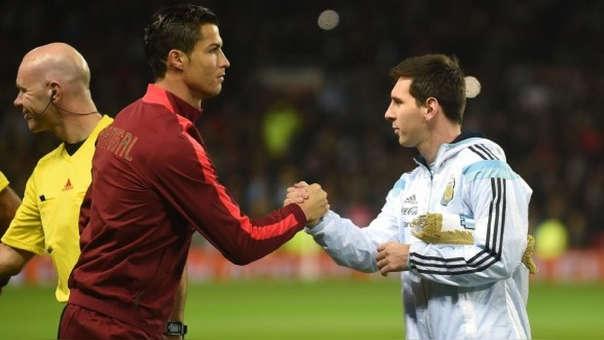 Cristiano Ronaldo y Lionel Messi tienen cinco Balones de Oro cada uno.