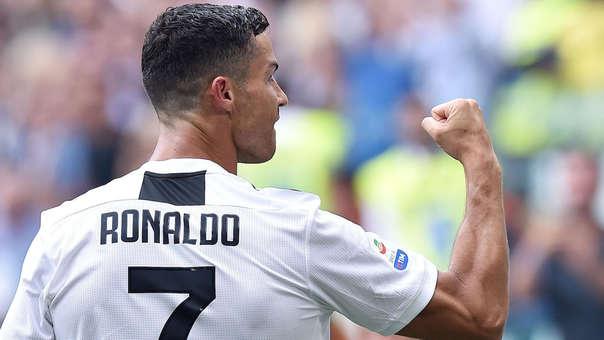 Cristiano Ronaldo lleva dos goles en los cuatro partidos que ha jugado en la Serie A con la Juventus.