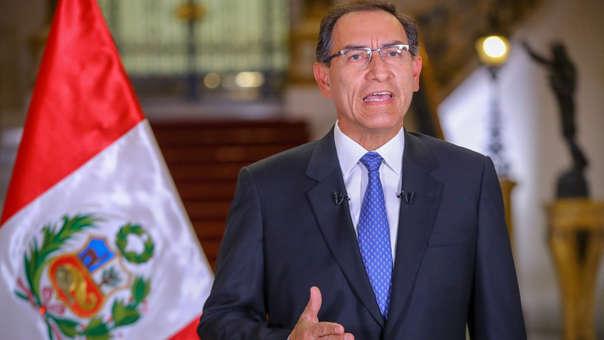 Martín Vizcarra planteó la cuestión de confianza en un mensaje a la Nación.