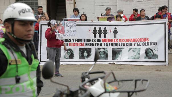 Foto Plantón Mujeres Desaparecidas