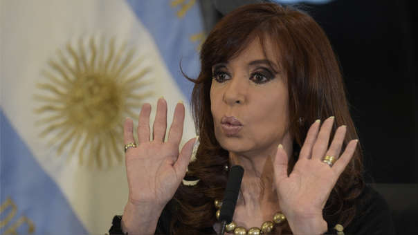 FILES-ARGENTINA-CORRUPTION-KIRCHNER-CHARGED