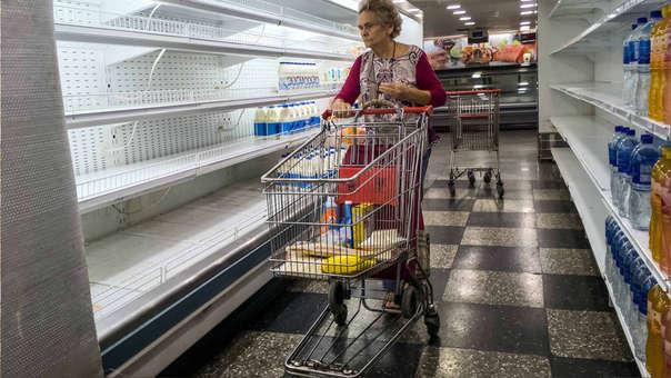 La carne no está disponible o está excesivamente cara en los supermercados de Venezuela.