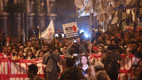La convocatorio es a partir de las 5 p.m. en la Plaza San Martín.