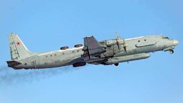 Un avión IL-20 como el derribado este lunes.