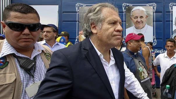 COLOMBIA-VENEZUELA-OAS-CRISIS-MIGRATION-ALMAGRO