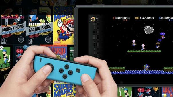 juegos NES en Nintendo Switch