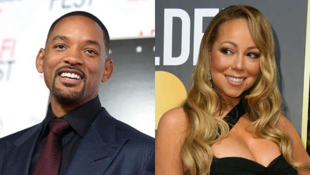 Will Smith y Mariah Carey