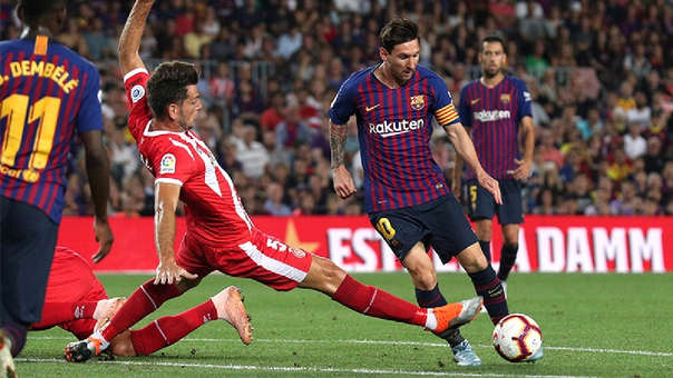 Barcelona Fue El Campeon De La Liga Espanola En La Temporada Pasada