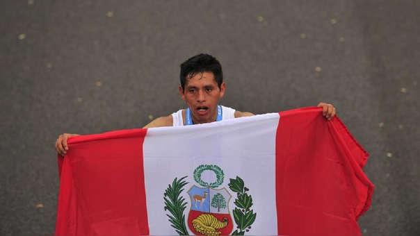 Cristian Pacheco fue el mejor sudamericano en la Maratón de Buenos Aires.