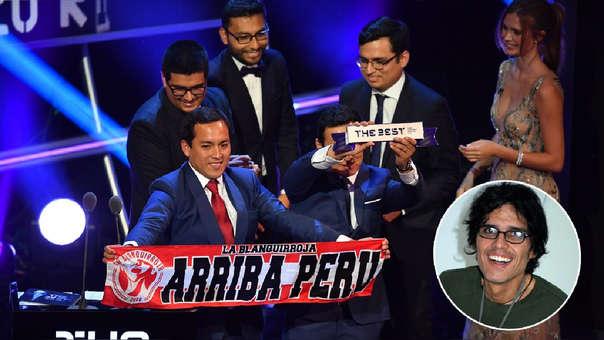 Fans peruanos
