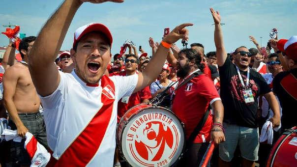 Más de 35 mil hinchas llegaron a Rusia para alentar a la Selección Peruana durante el Mundial.