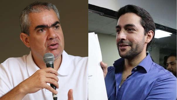 El encuentro entre ambos candidatos se dio durante debate televisivo entre ambos candidatos.