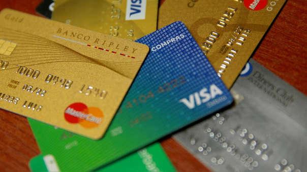 En los últimos meses se ha incrementado el uso de tarjetas de crédito en el Perú.