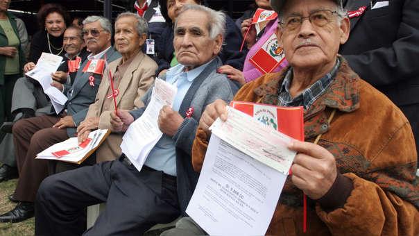Actualmente los afiliados que tienen menos de 20 años de aporte no califican para recibir una pensión de la ONP.