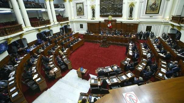 Congresistas de Fuerza Popular presentaron proyecto de ley.