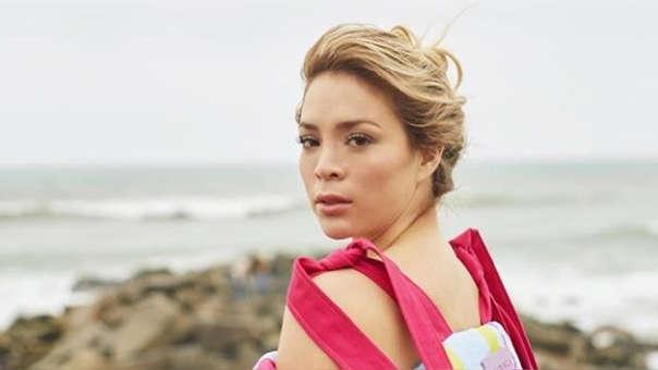 heyla Rojas acudió a la comisaría de Miraflores para denunciar a su ex novio Pedro Moral previo a su participación en
