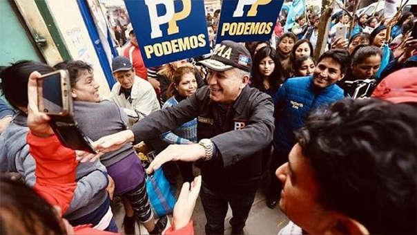 La presunta falsificación de firmas en la inscripción del partido Podemos Perú, podría dejar fuera de contienda por la alcaldía de Lima a Daniel Urresti.