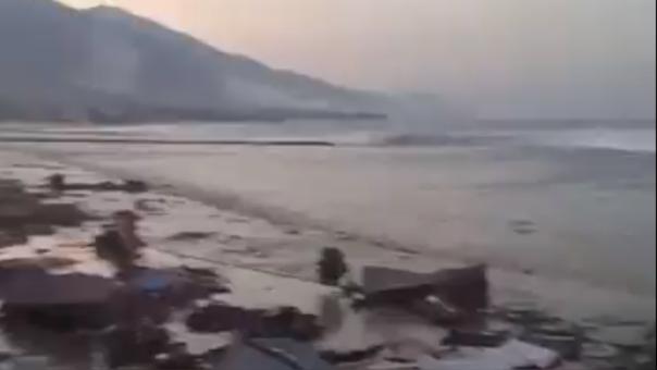 El epicentro del terremoto se ubicó a 78 kilómetros al norte de Palu, en la isla de Célebes.