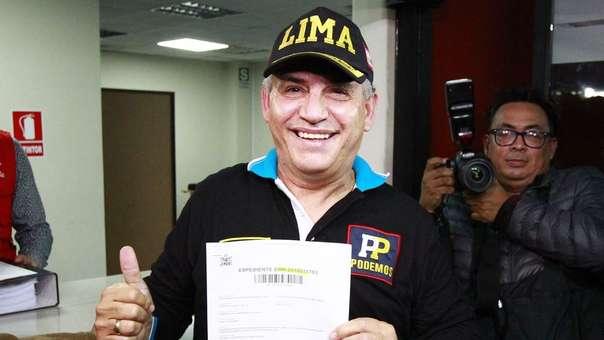 Daniel Urresti lidera la encuesta de Ipsos Perú.
