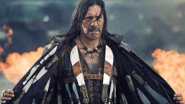Danny Trejo como 'Machete', uno de sus personajes más recordadas.