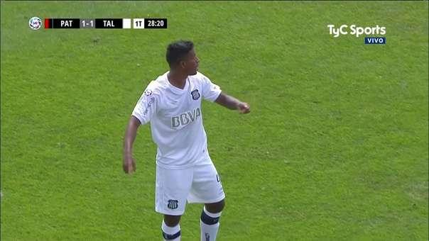 Miguel Araujo se ha ganado un puesto como titular en el poco tiempo que tiene en Talleres de Córdoba.