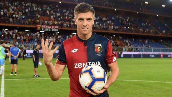 Krzysztof Piatek llegó esta temporada al Genoa proveniente del Cracovia. Pagaron 4 millones de euros por su pase.