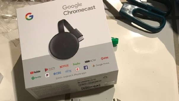 El nuevo Chromecast 3 se deja ver por error