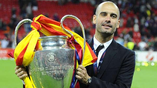 Pep Guardiola ganó 14 títulos como entrenador del Barcelona.