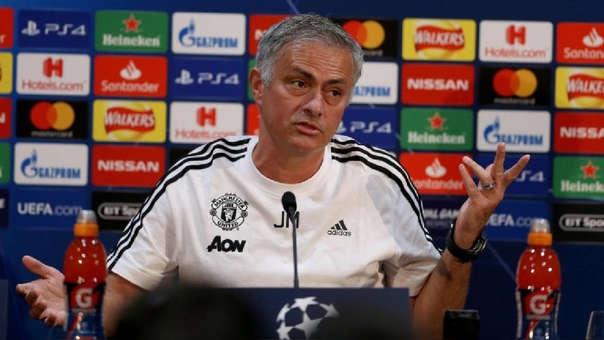 José Mourinho es entrenador del Manchester United desde hace tres temporadas.