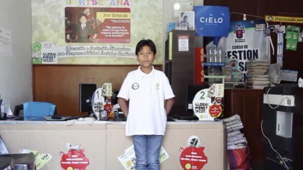 José Quisocala Condori: el niño arequipeño que dirige su propio banco y cuenta con más de 2 mil clientes