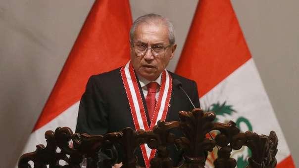 Vizcarra volvió a cuestionar a Pedro Chávarry.