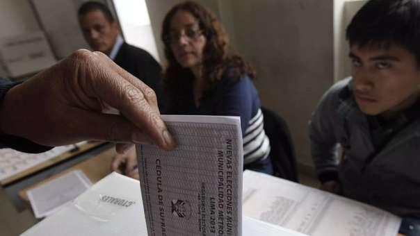 La elecciones regionales y municipales 2018 son este domingo 7 de octubre.