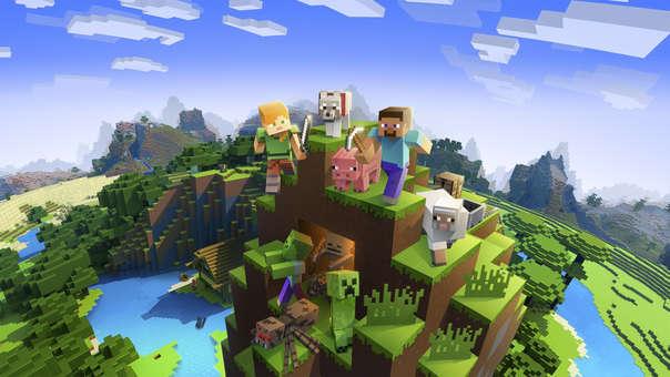 Minecraft sigue siendo el rey.