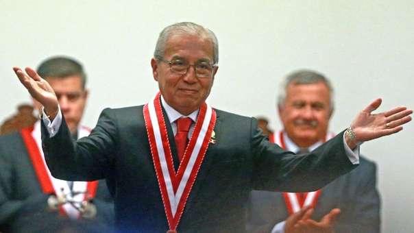 Pedro Chávarry es fiscal de la Nación desde fines de julio de este año.