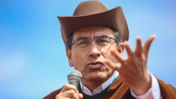 Martín Vizcarra reiteró este martes que Pedro Chávarry no es idóneo para el puesto del fiscal de la Nación, lo que provocó una respuesta que el presidente consideró una
