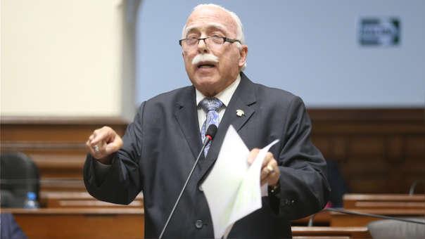 Carlos Tubino es congresista de Fuerza Popular.