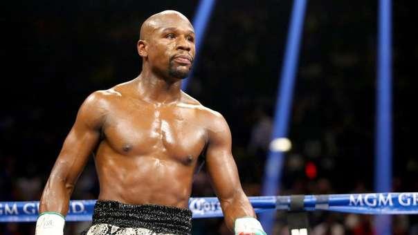 Floyd Mayweather se retiró del boxeo sin haber perdido ninguna pelea.