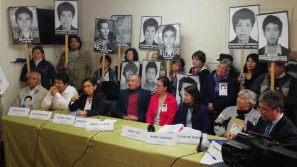 Familiares de víctimas de La Cantuta y Barrios Altos