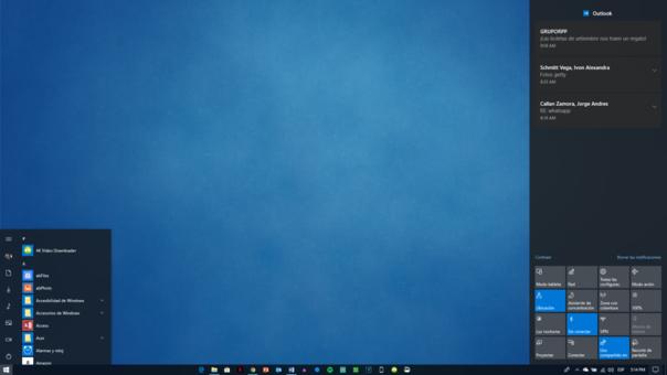 Estas son algunas novedades de la reciente versión de Windows 10