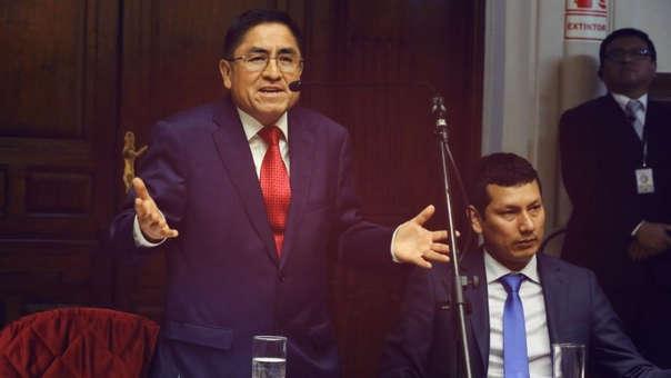 El Pleno del Congreso aprobó la destitución e inhabilitación de César Hinostroza