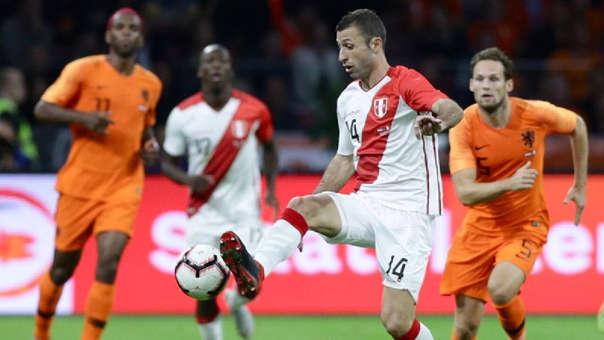 Horacio Calcaterra tuvo minutos ante Holanda y Alemania.