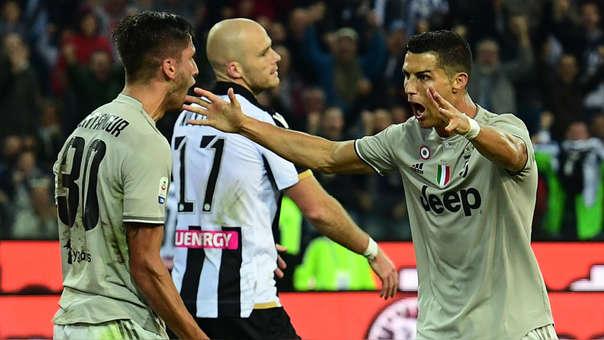 Cristiano Ronaldo lleva 4 goles en los 8 partidos que ha jugado en la Serie A.