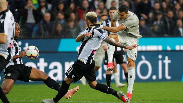 Cristiano Ronaldo lleva 4 goles en los 8 partidos que ha jugado con la Juventus en la Serie A.