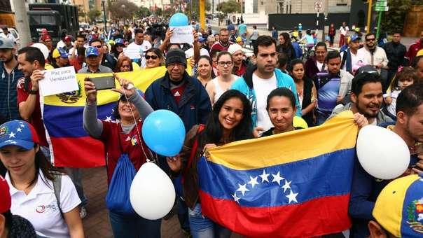 Los venezolanos han emigrado a Perú y otros países de América Latina empujados por la crisis en su país.