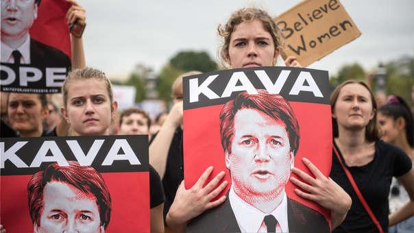 La confirmación de Kavanaugh se dio en medio de protestas.