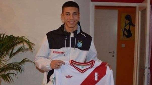 Jean Pierre Rhyner fue parte de una pre convocatoria para la sub 20 de la Selección Peruana.
