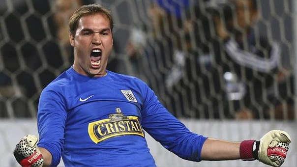 George Forsyth debutó como profesional con Alianza Lima en el 2001.