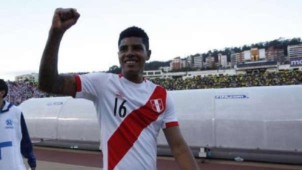Wilder Cartagena no jugó el Mundial Rusia 2018.
